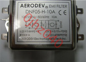 1PC  New  AERODEV  DNF05-H-10A 250V EMI Filters