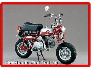 LARGE 5x3 Fridge Magnet bananas not included Honda Monkey yellow