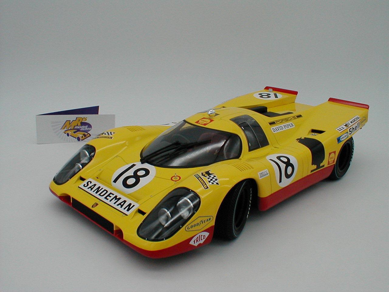 Minichamps 125706618-PORSCHE 917k 24h. le Mans 1970 Piper-Van Lennep 1:12