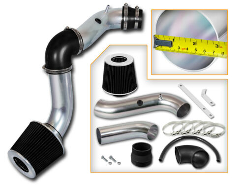 Filter BCP BLACK 04-08 Chevy Aveo 1.6L L4 Cold Air Intake Induction Kit
