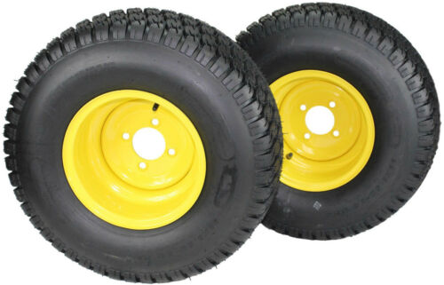 Set of 2 22x9.50-10 Tires /& Wheels 4 Ply for Lawn /& Garden Mower Turf Tires