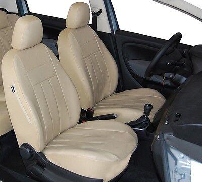 Mercedes W212 Maßgefertigte Kunstleder Sitzbezüge in Schwarz