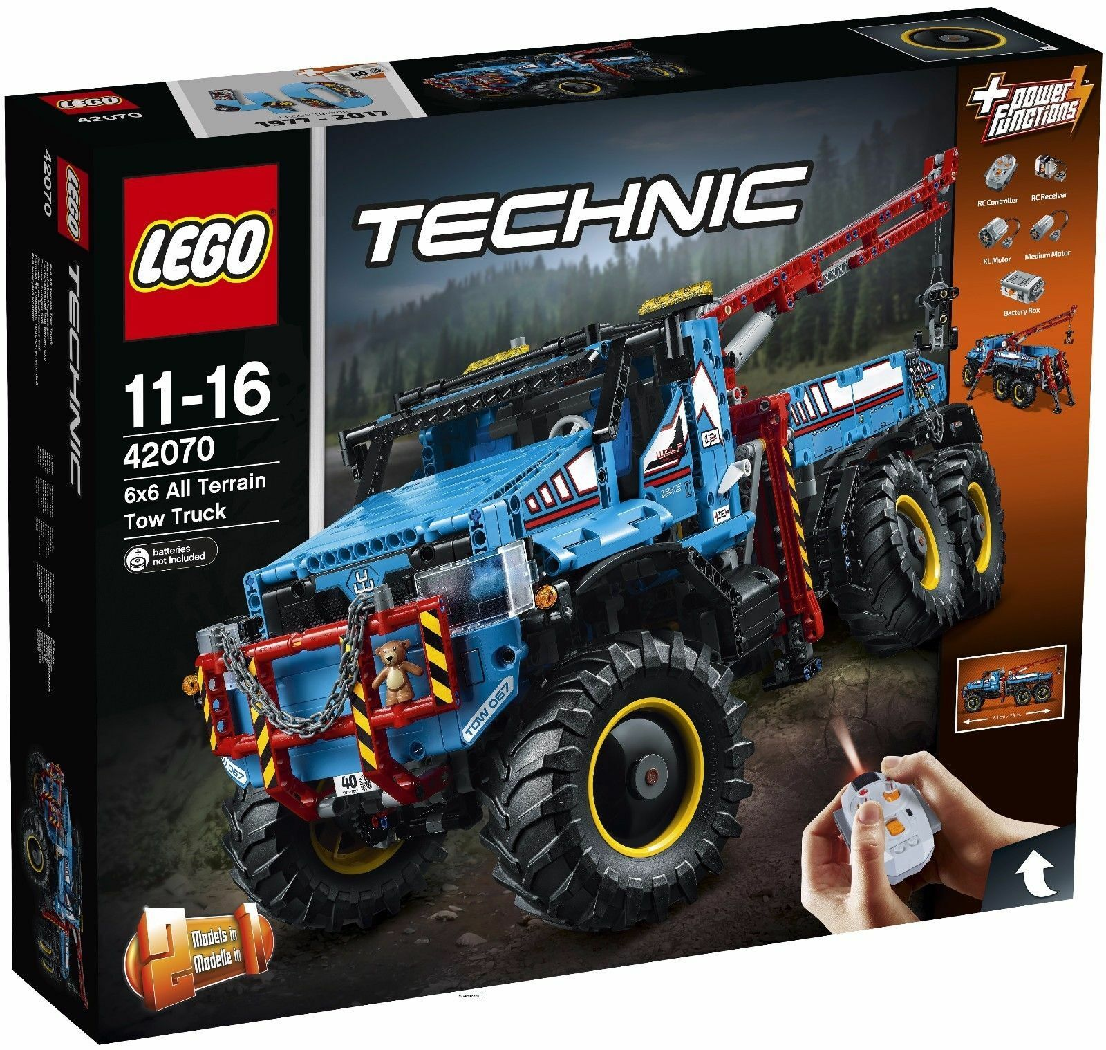 LEGO® Technic 42070  Allrad-Abschleppwagen, NEU & OVP