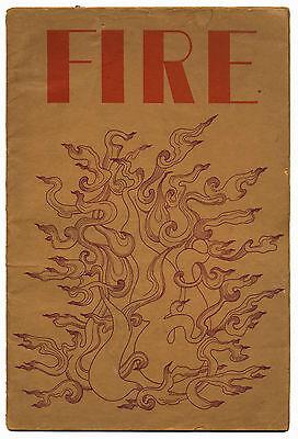 FIRE No 1 July 1967 Oz era Underground Magazine Joseph Berke RD Laing J Werner