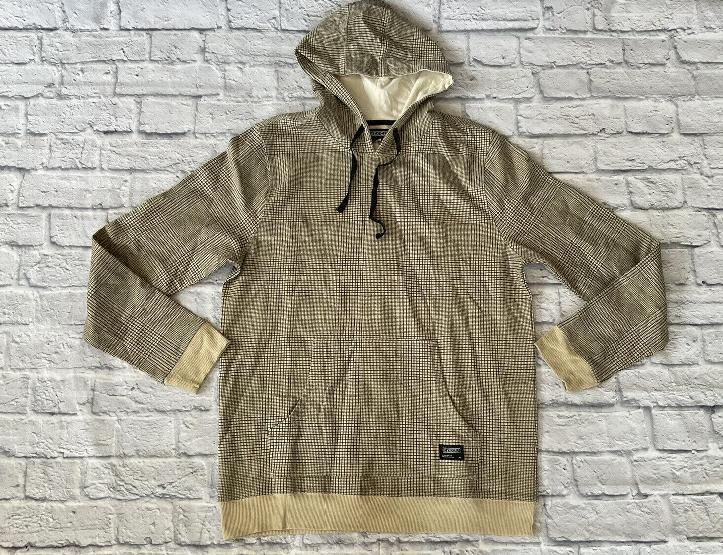 Ezekiel Men's Fleece Pullover Hoodie Long Sleeve Sweatshirt Size M