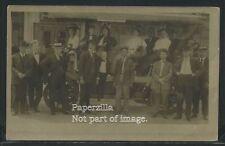 CO Denver RPPC 1917 D.O. & C. Co. TOURING DENVER AUTOMOBILES Tour Company Photo
