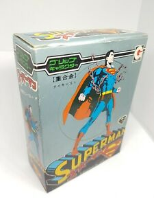 Vintage 1979 Eidai Grip Japan Superman Figure popy bullmark rare toy mint boxed