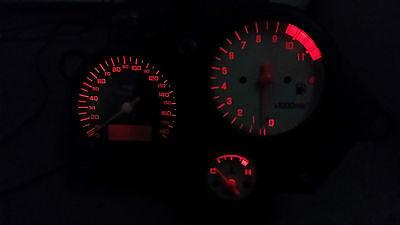 RED HONDA VTR1000F FIRESTORM led dash clock conversion kit lightenUPgrade