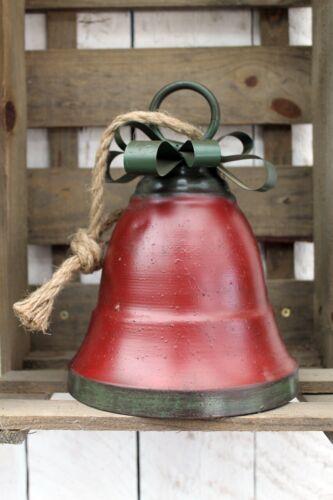 Weihnachts Deko Glocke groß Weihnachtsdeko Weihnachten Hängedeko Tischdeko