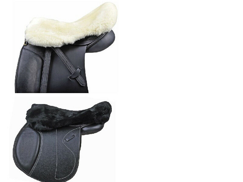 HKM 100% Natural Lambswool Seat Saver - Horse Saddle Seat Saver FREE DELIVERY