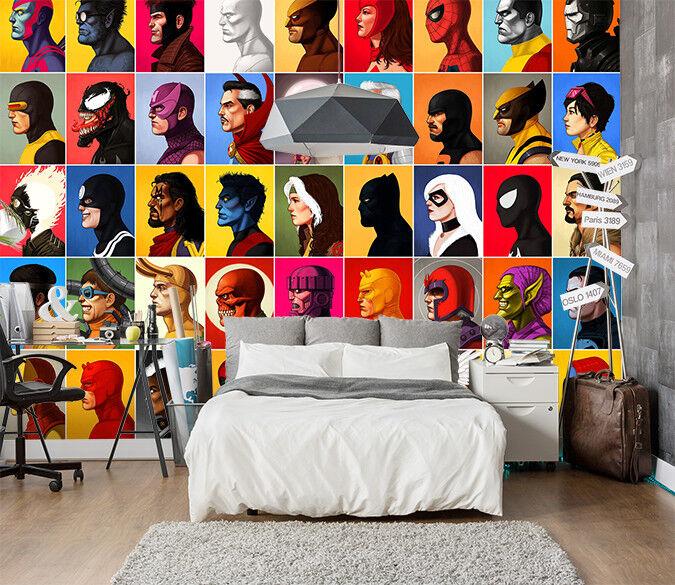 3D People Patterns 026 WallPaper Murals Wall Decal WallPaper AU Summer