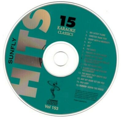 Karaoke Cdgs, Dvds & Media Pop Hits Vol 153 To Ensure A Like-New Appearance Indefinably Sunfly Hits Karaoke Disc Vol 153 Sf153