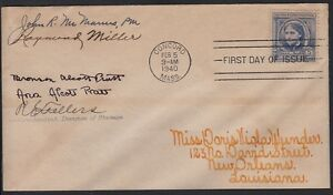 1940-Louisa-May-Alcott-Sc-862-family-signatures-to-Wunder