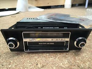 FORD-XA-XB-GT-GS-FALCON-FAIRMONT-8-TRACK-DUMMY-FACE-WITH-BRACKETS-ONLY