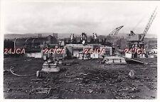 "Photograph Royal Navy. HMS ""King George V"" Battleship. Breakup. Dalmuir. 1958"