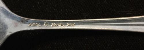 Sterling Silver Flatware International Lady Betty Salad Fork