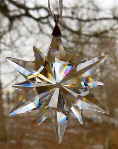 5f9aa0871 Image is loading SWAROVSKI-Crystal-2017-Annual-Little-Star-Snowflake -Christmas-