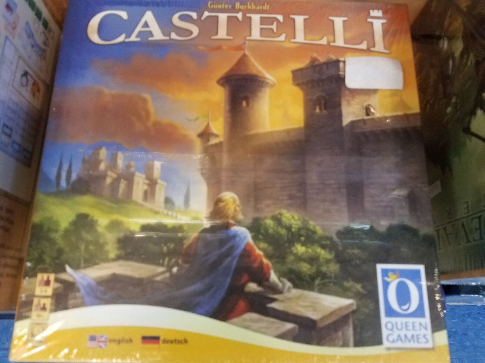 Castelli - Queen Games Board Game New
