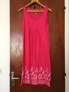 Robe femme BLANCHE PORTE rose T M 38/40