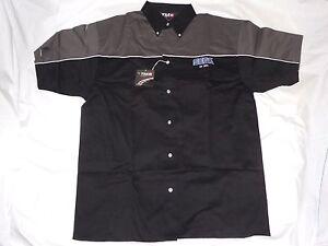 NEW-Sega-E3-2012-MEN-039-S-Racing-Style-Button-Up-Shirt-Size-LARGE-L-Promo-TMR-men