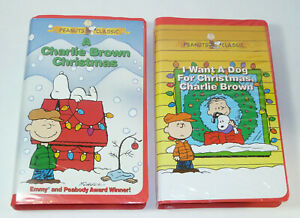 I Want A Dog For Christmas Charlie Brown.Details About A Charlie Brown Christmas I Want A Dog For Christmas Peanuts Vhs Video