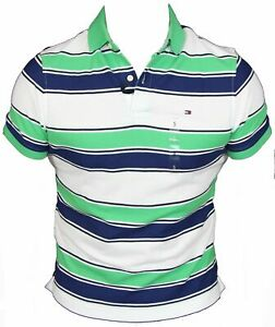 New-Tommy-Hilfiger-Mens-Polo-Shirt-in-Kelly-Green-Colour-Size-XL