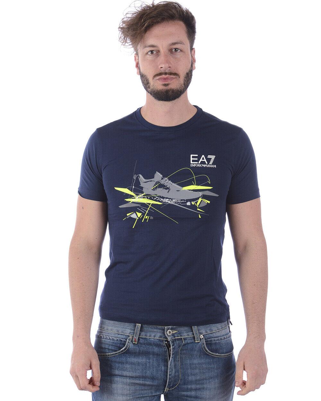 T shirt emporio armani ea7 mens Blau 3zpt50pjm9z 1554 make offer m tl