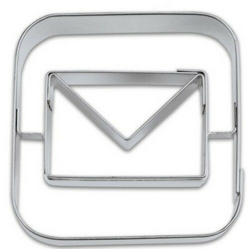 Ausstechform App Mail 5 cm Ausstecher Apps Brief Städter