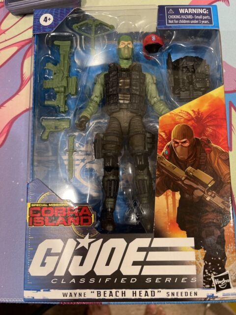 "G.I. Joe Classified Series:  Wayne ""Beach Head"" Sneeden Figure new"