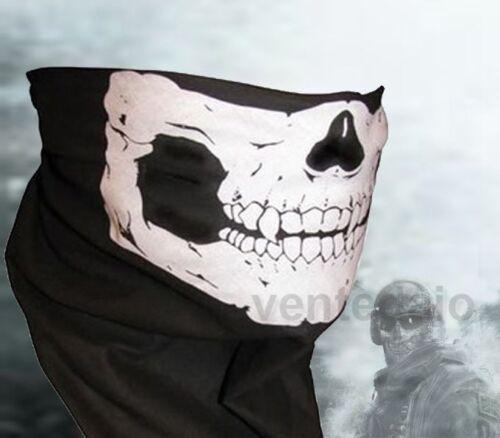 Halsband/Haube Ghost Totenkopf Call Of Duty Modern Warfare3 Mw3 Airsoft