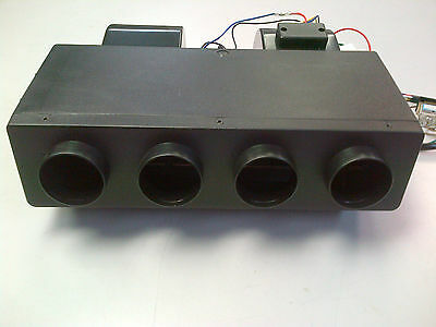 Universal Evaporator for Car or Truck - 4 port, 24 Volts