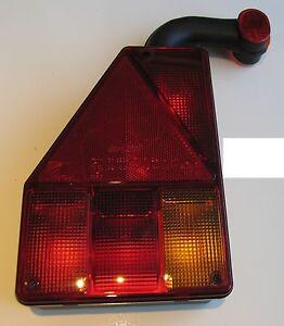 TRAILER REAR LIGHT LENS ASPOCK EARPOINT 3 111 LEFT HAND FIT BRIAN JAMES TRAILER