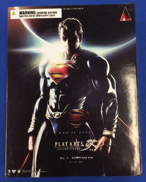 SQUARE ENIX Jugar Arts Kai VARIANTE DC COMICS súperman Figura De Acción Nueva