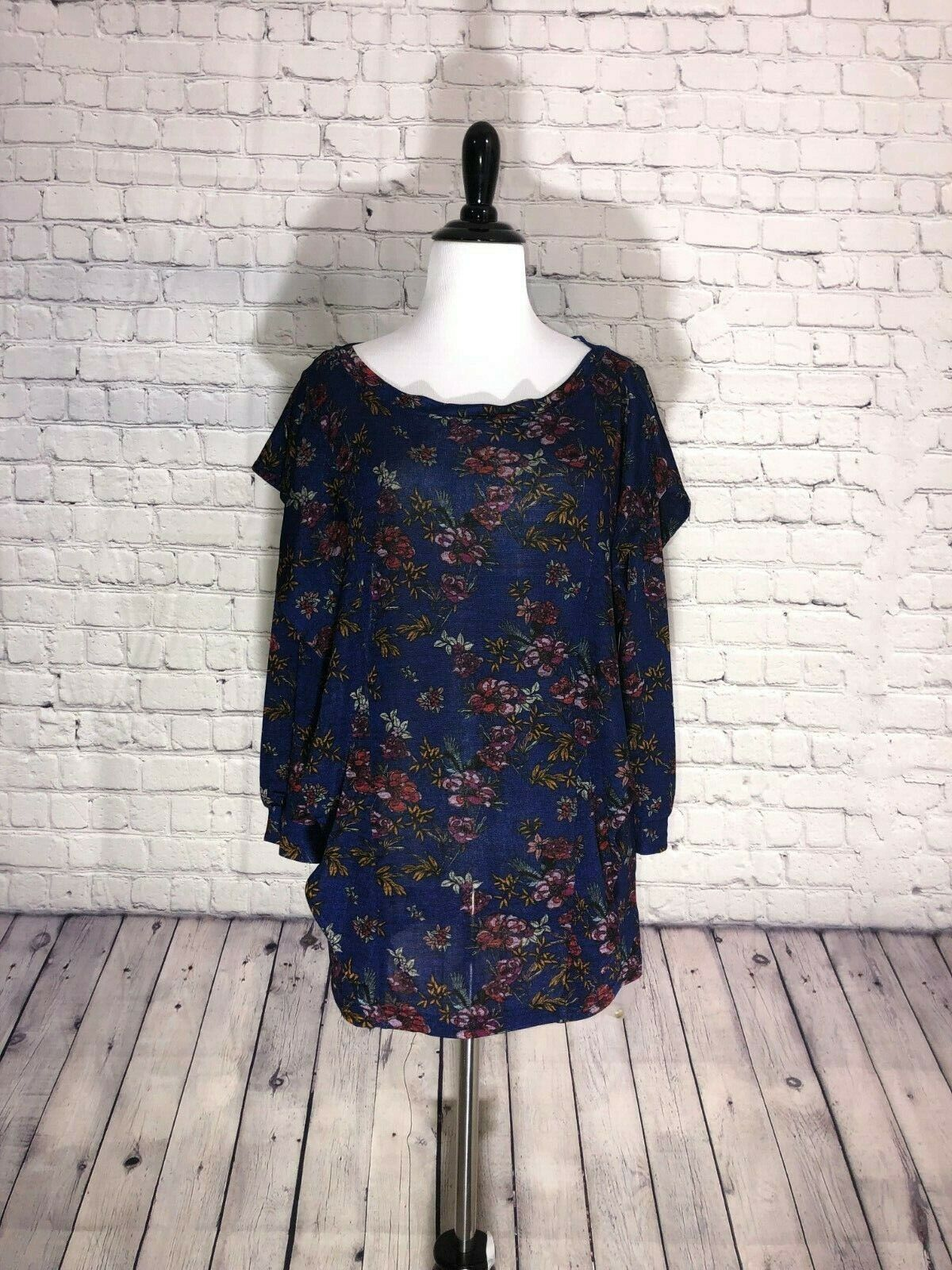 Free People Dock Street Floral Print M