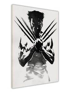 WOLVERINE-MOVIE-POSTER-PRINTS-CANVAS-WALL-ART-PICTURES-KIDS-DECORATION-IMAGES