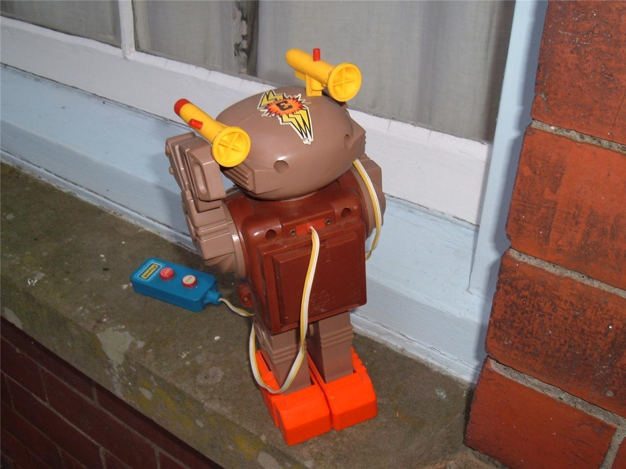 VINTAGE PLAYWELL SPACE COMMANDER TESTED ROBOT 1970'S HONG KONG NOT TESTED COMMANDER SPARES b55518