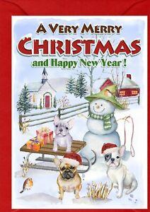 French-Bulldog-A6-4-034-x-6-034-Christmas-Card-Blank-inside-designed-by-Starprint