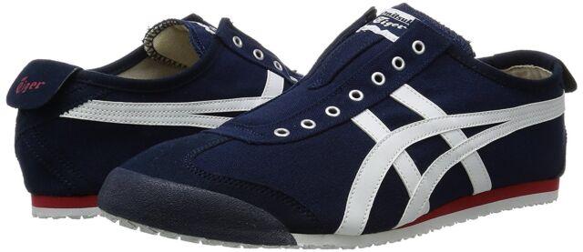 ... ireland asics onitsuka tiger mexico 66 slip on th3k0n shoes silver gray  indigo blue ae078 02238 85e418569