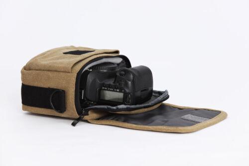 Puente De Hombro Cintura Cámara Caso Bolsa para Canon EOS M50 M100 M5 M6