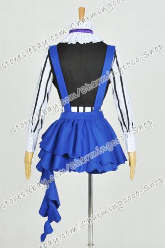 Black Butler Book Of Circus Cosplay Costume Kuroshitsuji Ciel Phantomhive New