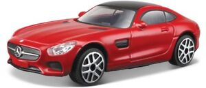 Mercedes-Benz-AMG-GT-en-Rojo-Bburago-18-30321-escala-1-43-Coche-de-Juguete-Modelo-De-Regalo