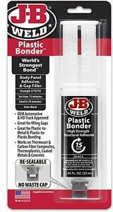 J-B-Weld-50139-Plastic-Bonder-Body-Panel-Adhesive-and-Gap-Filler-Syringe-Black