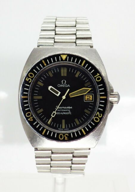 Omega Seamaster 120 Baby Ploprof Automatic divers Watch 166.0250 calibre 1010