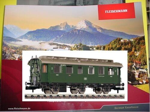 FLEISCHMANN N 8074 Personenwagen 2 Klasse DB Epoche 3  NEU OVP