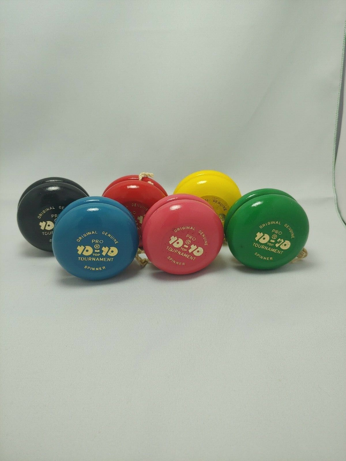 Vintage Yo-Yo - Original Genuine Spinner , Pro Tournament Model Model Model - Set of 6 46cb92