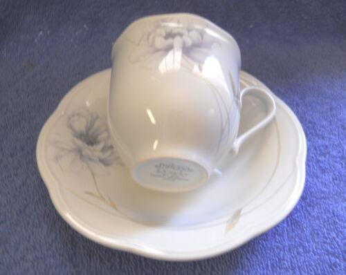 MIKASA PEONY SPLENDOR EJ905 cup and saucer SET