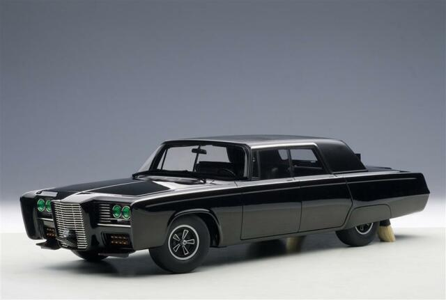 AUTOart Black Beauty - Green Hornet Tv Series Black 71546 1/18