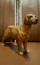 GOLDEN RETRIEVER Dog  FIGURINE -  ANDREA by SADEK VINTAGE Japan