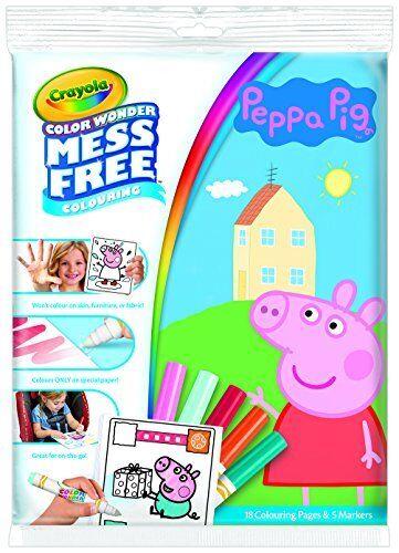 Crayola Peppa Pig Colour Wonder