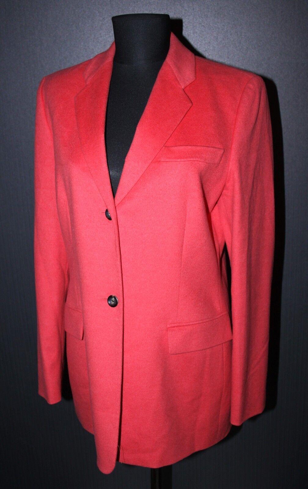 Cerruti 1881 womens blazer Size D 40 wool cashmere